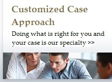 Learn about our customized case approach